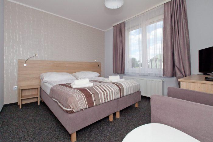 Pokój na 1 piętrze z balkonem trzyosobowy